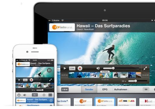 Timeshift mit visueller Zeitleiste - Tizi.tv 2.0 (Bild: Equinux)