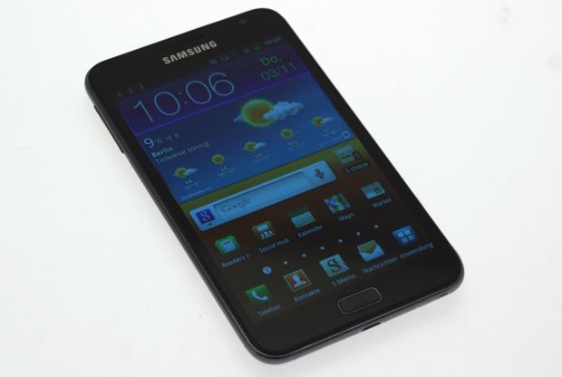 Das Galaxy Note von Samsung