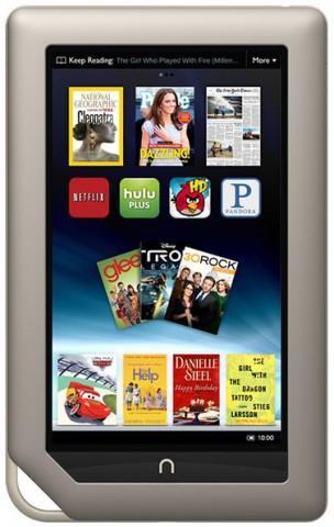 Das Nook Tablet von Barnes & Noble (Bild: Barnes & Noble)