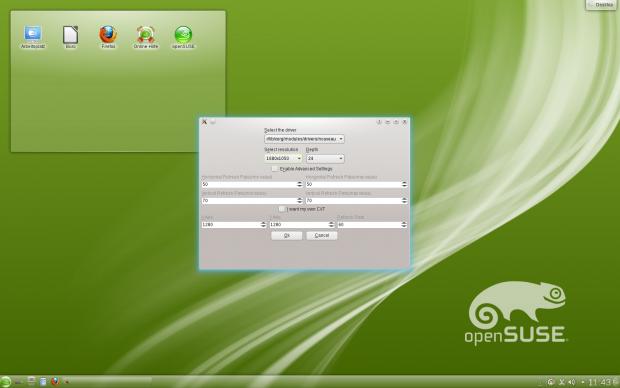 Das Monitor-Tool von Sax 3 lässt unter anderem die Auswahl des Grafiktreibers zu.