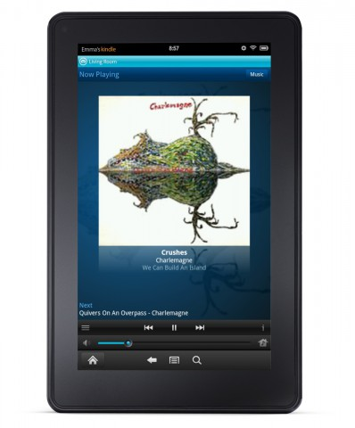 Neuer Sonos Controller im Android-Tablet Kindle Fire (Bild: Sonos)