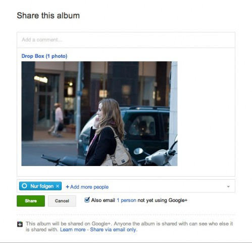 Picasa 3.9 (Bild: Google/ Andreas Donath)