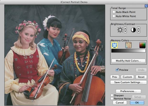 Unbehandeltes Bild in Pictocolor iCorrect Portrait 2.0 (Bild: Pictocolor)