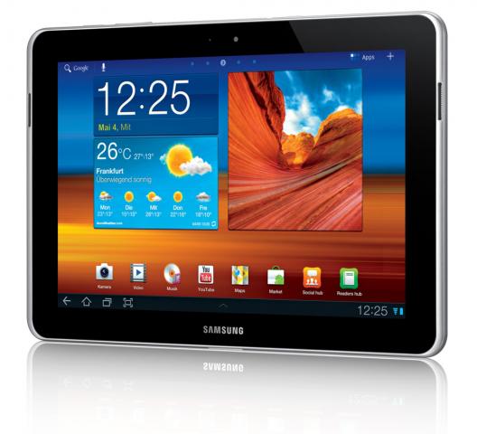 Samsungs Galaxy Tab 10.1N