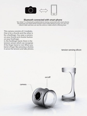 Silikonmanschetten statt Kameragehäuse