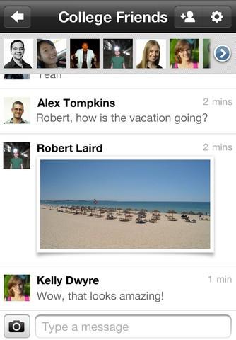 iOS-App für Google+ (Bild: Apple/ Google)