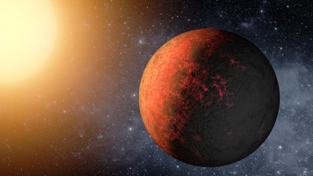 Die beiden neu entdeckten Exoplaneten Kepler 20e... (Bild: Nasa)