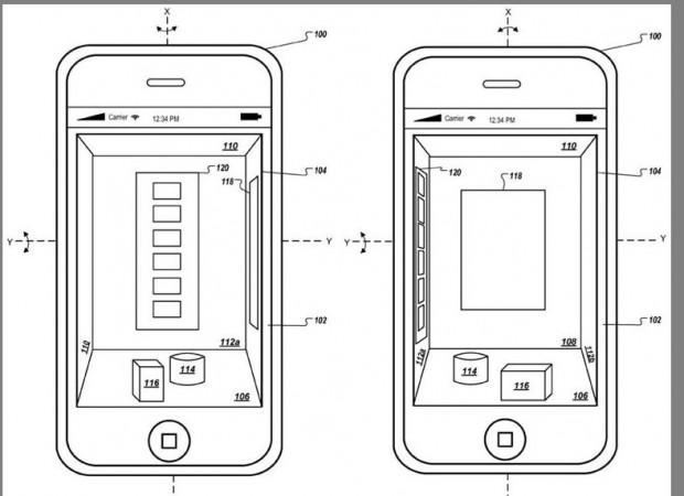 Apple-Patentantrag 20120007850 (Bild: US-Patent- und Markenamt)