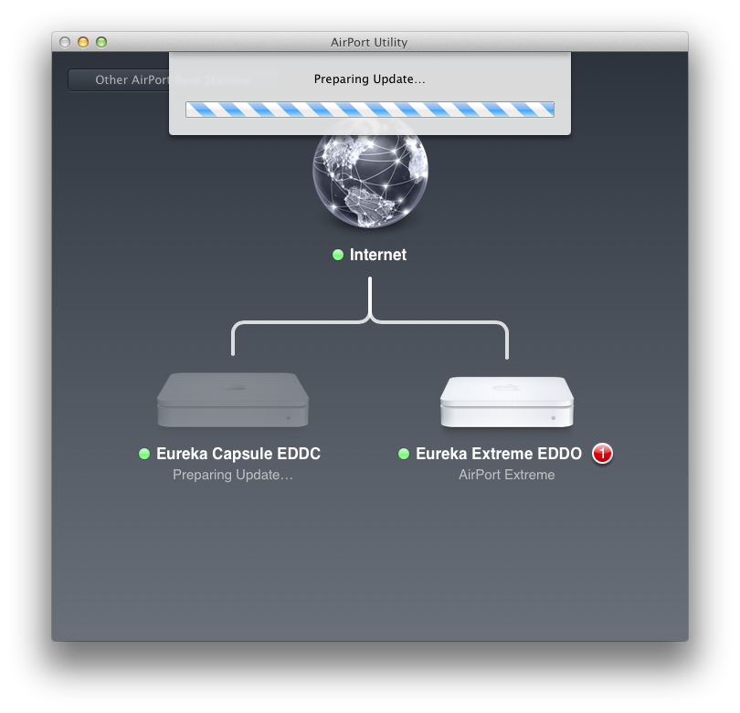 Airport Utility 6: Apple reduziert Funktionsumfang seiner Routersoftware - Firmware-Updates...