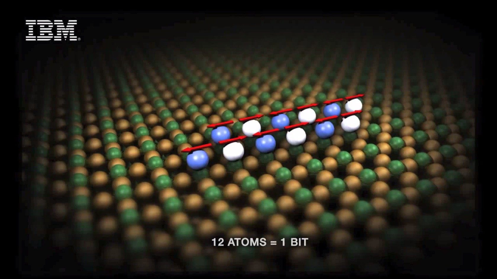 Extreme Speicherdichte: IBM speichert 1 Bit in nur 12 Atomen - 1 Bit in 12 Atomen
