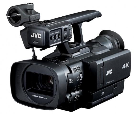 JVC GY-HMQ10 (Bild: JVC)