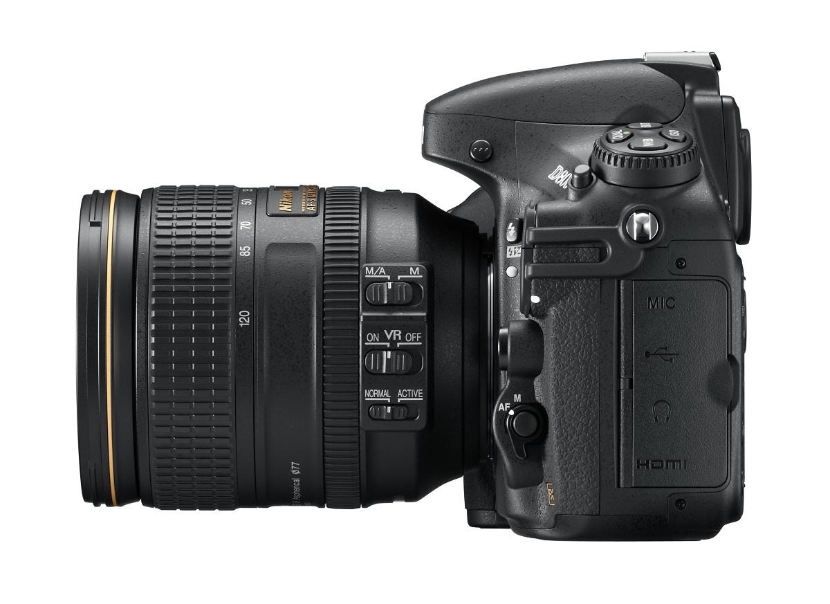 Vollformat-DSLR: Nikon D800 mit 36 Megapixeln und Videokomfort -
