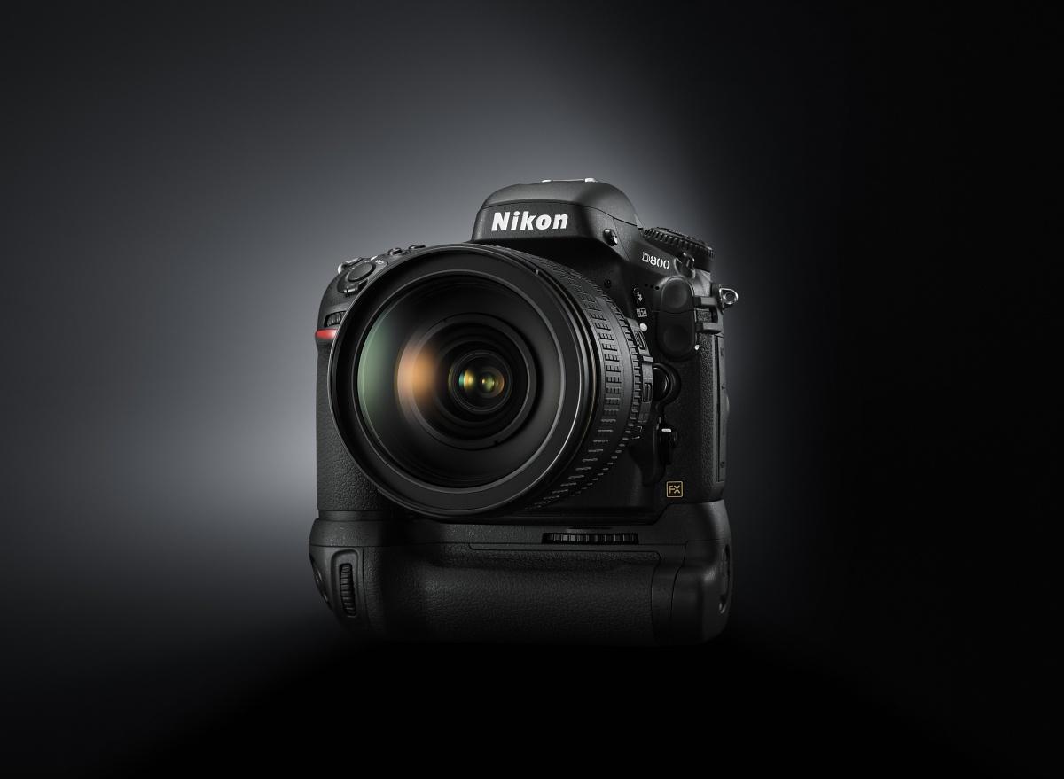 Vollformat-DSLR: Nikon D800 mit 36 Megapixeln und Videokomfort - Die D800 (Bild: Nikon)