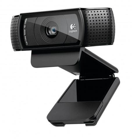 Logitechs HD Pro Webcam C920 (Bild: Hersteller)