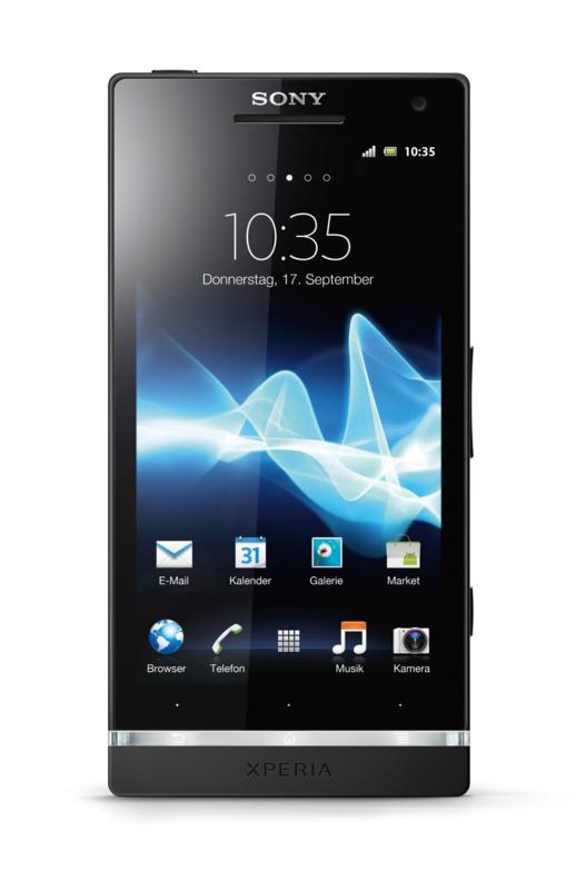 Sony Xperia S: Android-Smartphone mit lichtstarker 12-Megapixel-Kamera - Sony Ericssons Xperia S