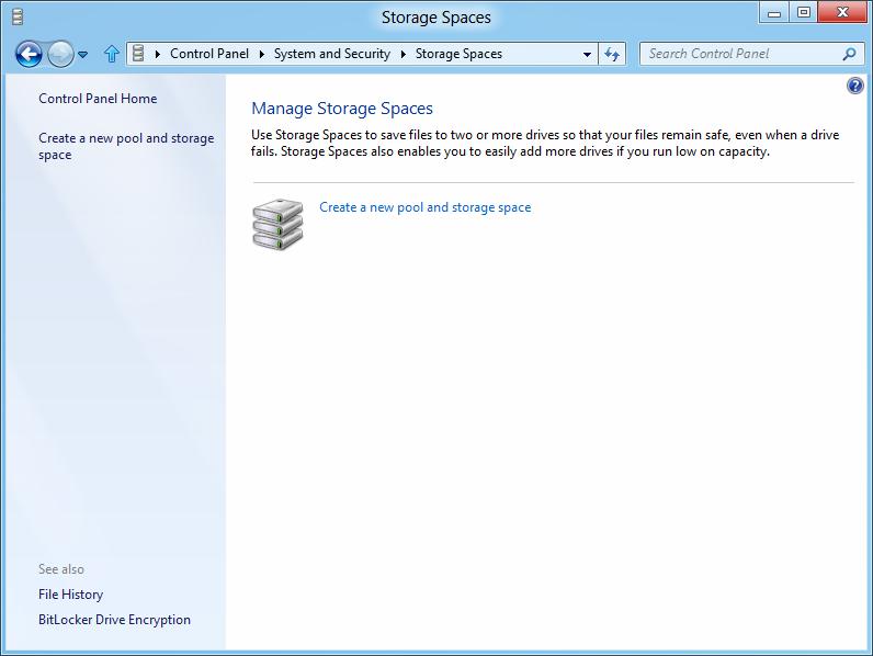 Windows 8: Storage Spaces gegen volle Festplatten - Storage Spaces in Windows 8 verwalten