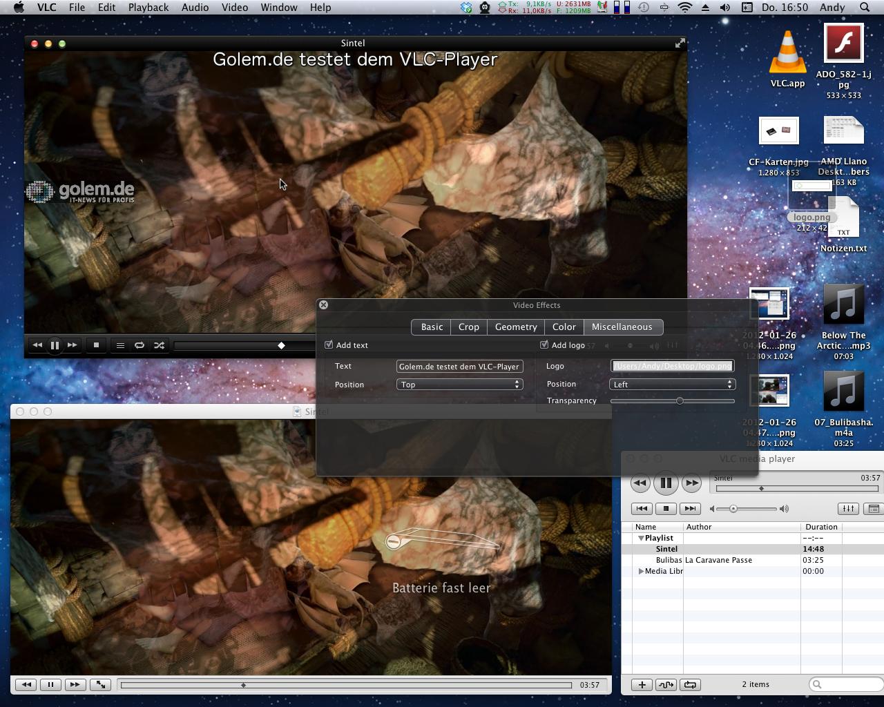 Mediaplayer: VLC 2.0 als Release Candidate erschienen -