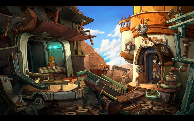 Deponia (Screenshot: Golem.de)
