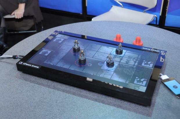 Das Prototyp-Spielfeld von Epawn Arena (Bilder: Andreas Sebayang)