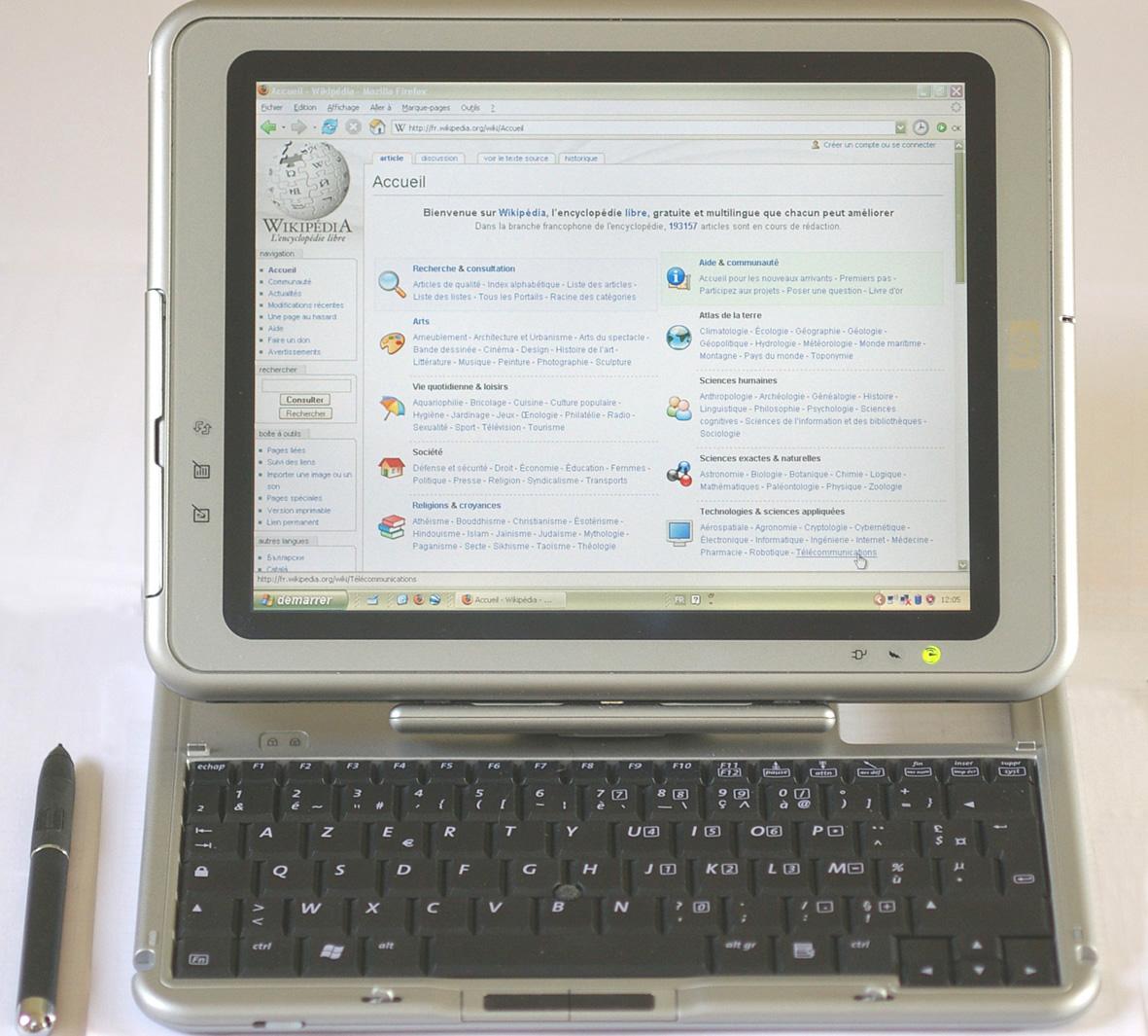 Galaxy Tab vs. iPad: Apple verliert erneut gegen Samsung - HP Compaq TC1000
