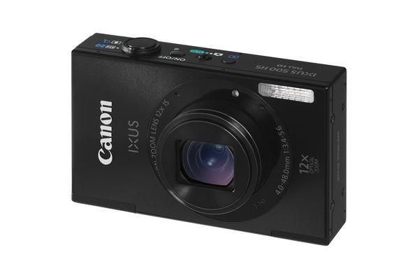 Ixus 500 HS (Bild: Canon)