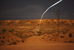 Das Geschoss kann Kurven fliegen (Foto: Sandia National Laboratories)