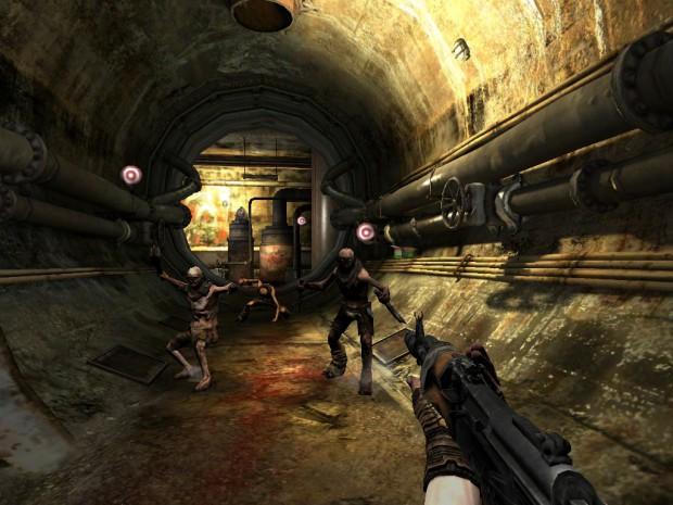 Rage HD 2.0 - Szene aus dem kostenpflichtigen Level 5: Aquädukt (Bild: id Software)