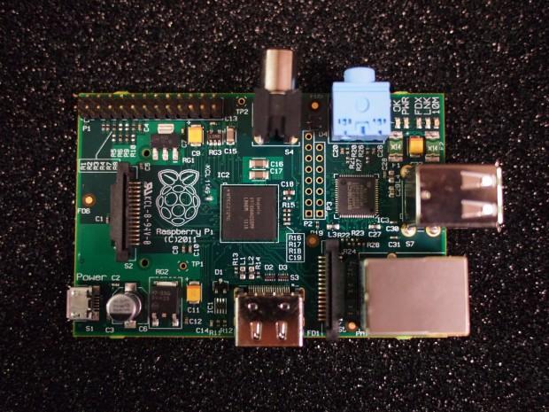 Der Prototyp des Raspberry Pi