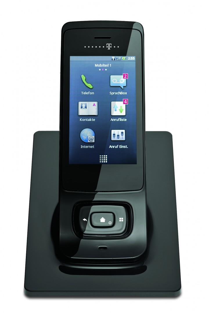 telekom speedphone 700 wlan telefon mit touchdisplay und. Black Bedroom Furniture Sets. Home Design Ideas