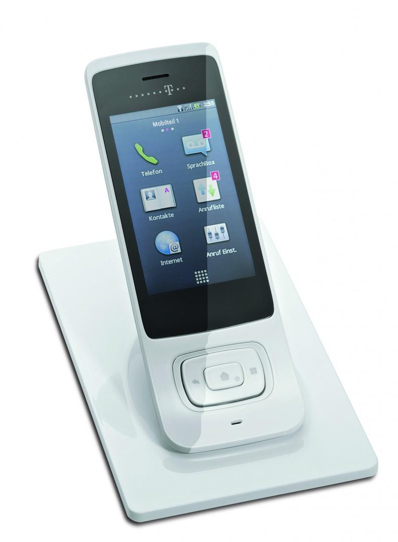 Telekom Speedphone 700 Wlan Telefon Mit Touchdisplay Und