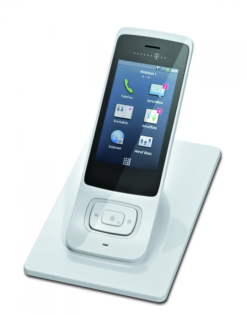 telekom speedphone 700 wlan telefon mit touchdisplay und. Black Bedroom Furniture Sets. Home Design Ideas
