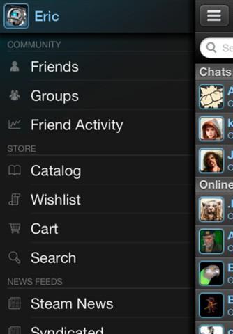 Steam Mobile - Zugriff auf Shop, Foren und Chat (Bild: Valve)