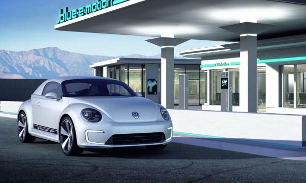 Der Elektrosportwagen E-Bugster (Bild: VW)