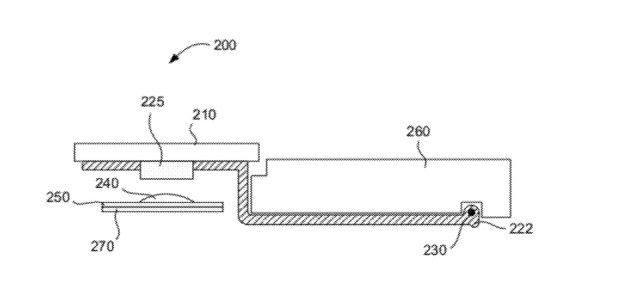Apple will mit flacheren Tasten dünnere Notebooks ermöglichen. (Bild: Apple/US-Patent- und Markenamt)
