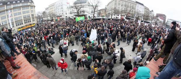 Acta-Demo in Hamburg (Bild: Norbert Schramm/CC-BY-SA 3.0)