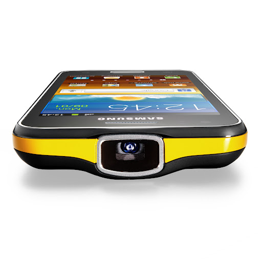 Android-Smartphone mit Projektor: Samsung erhöht Preis für das Galaxy Beam - Samsung Galaxy Beam mit integriertem Projektor