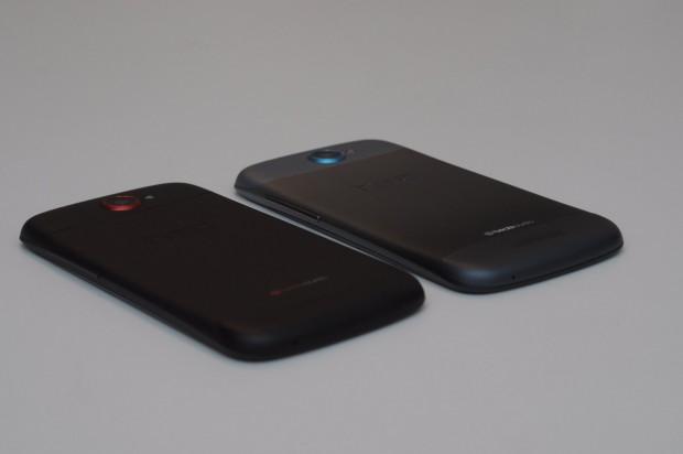 HTC One S mit unterschiedlichen Gehäusen (Bilder: Andreas Sebayang)