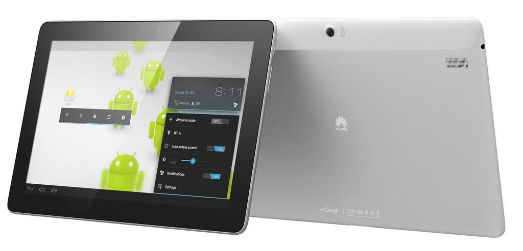 Mediapad 10 FHD: Huaweis Full-HD-Quadcore-Tablet mit Android 4.0 - Mediapad 10 FHD (Bild: Huawei)