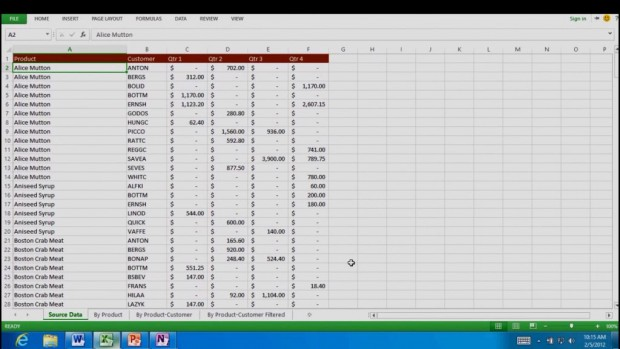 Office 15: Excel unter Windows 8 für ARM (WOA)