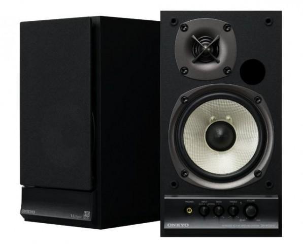 Moderner Lautsprecher mit WLAN: Onkyo GX-W100HV (Bild: Onkyo), Lautsprecher