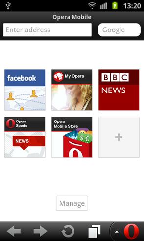 Mobiler Browser: Opera Mini Next und Opera Mobile 12 veröffentlicht - Opera Mobile 12