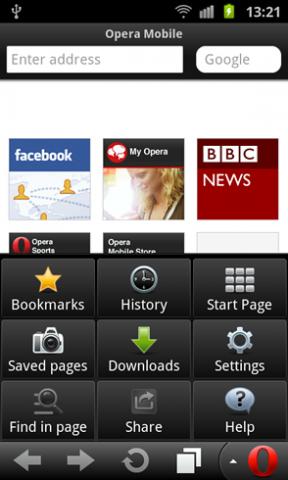 Opera Mobile 12