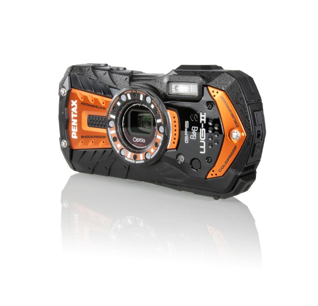 Pentax: Aufgerüstete Versionen der kälteunempfindlichen Kameras - Pentax WG-2 GPS (Bild: Pentax)