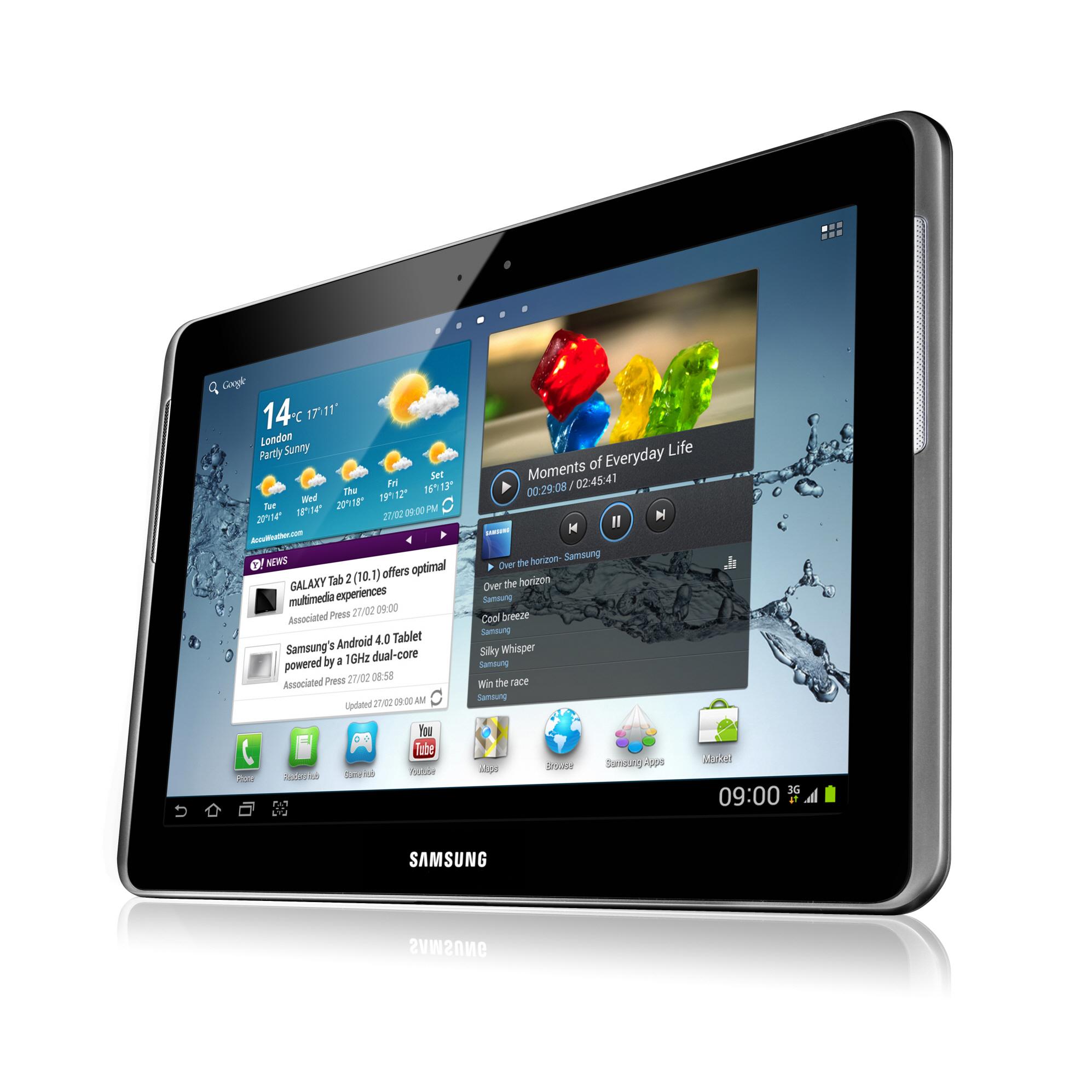 Samsung Galaxy Tab 2 (10.1): 10-Zoll-Tablet mit Android 4.0 für 500 Euro - Galaxy Tab 2 (10.1)