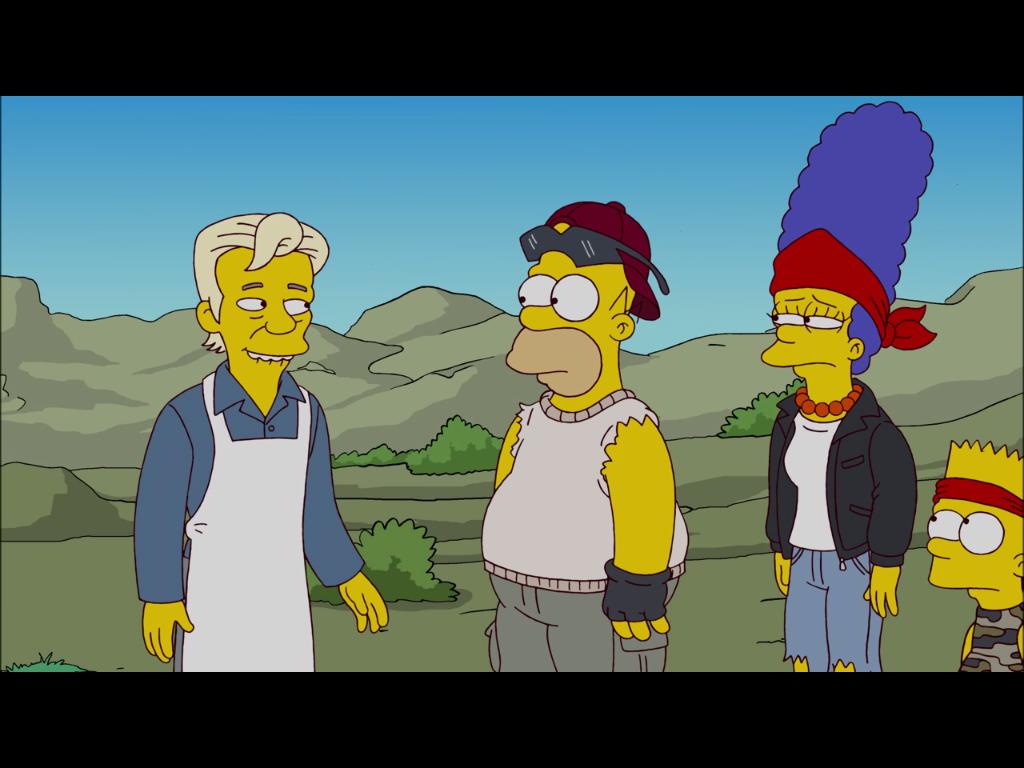 500. Folge: Julian Assange als Gaststar bei den Simpsons - Julian Assange hat einen kurzen Auftritt, ...