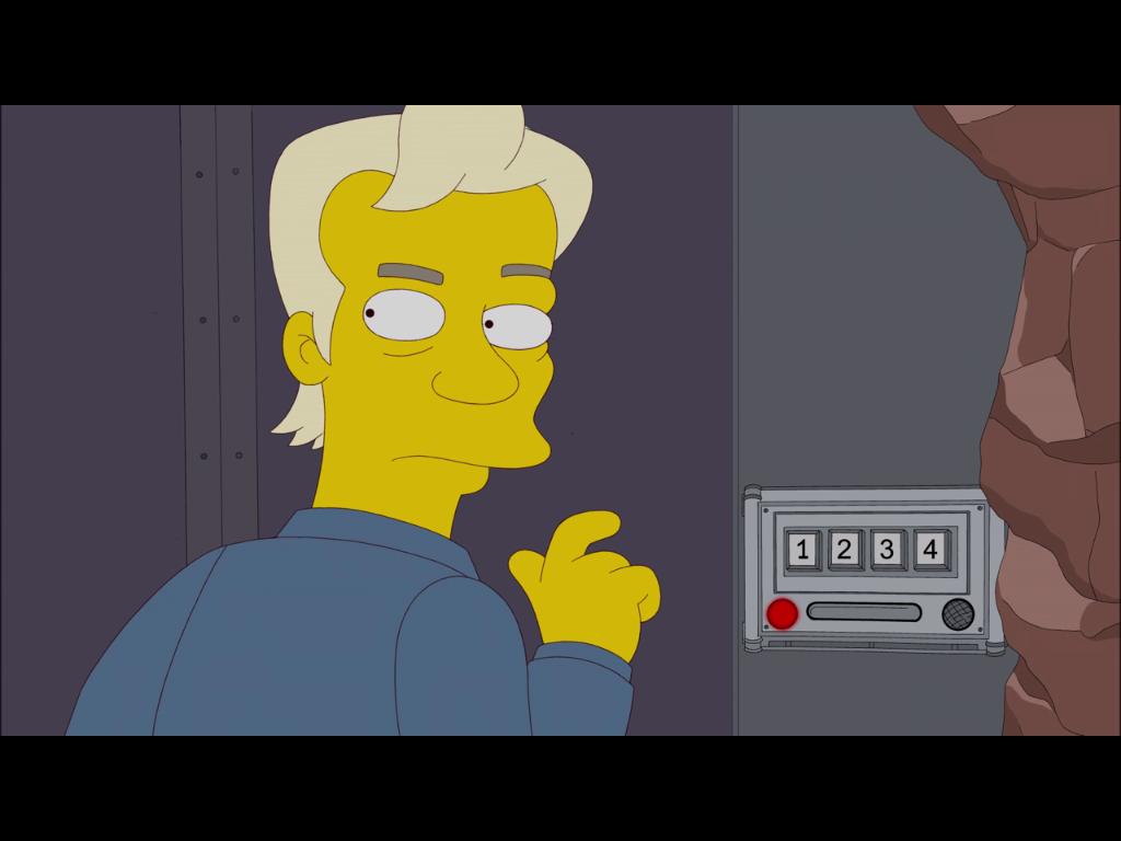 500. Folge: Julian Assange als Gaststar bei den Simpsons - ... bevor er in seinem unterirdischen Bunker verschwindet.