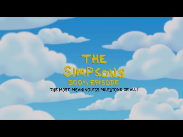 Die Simpsons feiern ihre 500. Episode.