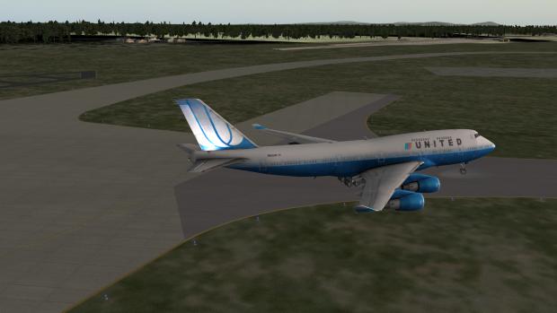 Kampfflugzeug Simulator