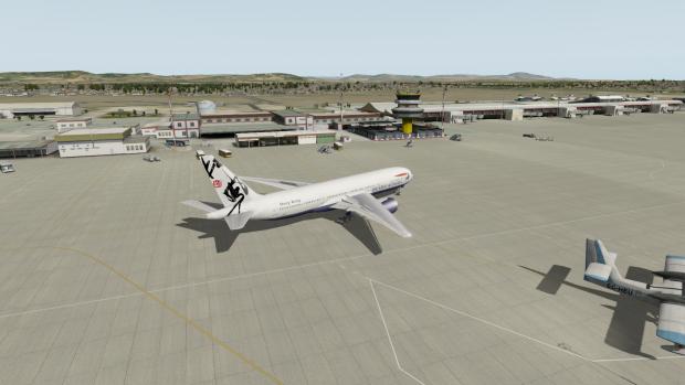 Der Flughafen von Faro (LPFR) ist sehr gut gelungen.