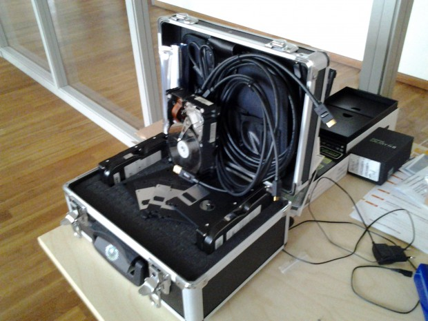 Des Golems Admin-Koffer mit dem Tab 7.0 Plus N ...